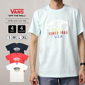 【ポイント5倍 お買い物マラソン期間中】【送料無料】VANS Tシャツ 半袖 メンズ ヴァンズ Tシャツ バンズ ユニセックス 男女兼用 レディース OTW USA S/S TEE VA20SS-MT19