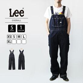 【ポイント5倍 マラソン期間中】【送料無料】Lee リー オーバーオール メンズ デニム 定番 008-LM7254-2