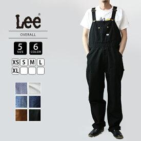 【ポイント5倍 マラソン期間中】【送料無料】Lee リー オーバーオール メンズ デニム 定番 008-LM7254-3
