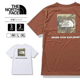 【送料無料】ノースフェイス Tシャツ THE NORTH FACE Tシャツ 半袖 スクエアカモフラージュ 173-NT32158