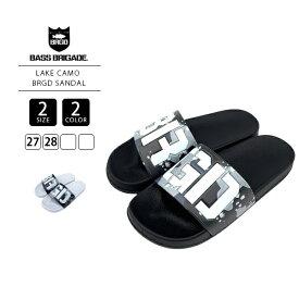 【送料無料】バスブリゲード サンダル BASS BRIGADE サンダル バスブリ LAKE CAMO BRGD SANDAL BLSD03