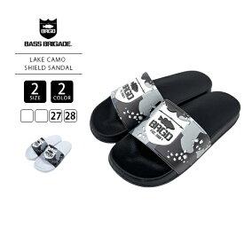 【送料無料】バスブリゲード サンダル BASS BRIGADE サンダル バスブリ LAKE CAMO SHIELD SANDAL SLSD03