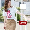 【Levi's リーバイス 】LEVI'S × PEANUTS レッドタブ スヌーピー グラフィック TEE 22491-03-040/22491-03/レディース/メンズ/男女兼用/ユニセックス/ト