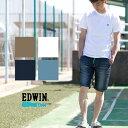 【EDWIN エドウィン】JERSEYS COOL ショートパンツ ER637C /ジャージーズ/ショーツ/短パン/半パン/ハーフパンツ/デニムパンツ/ウエスト...