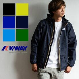 【 K-WAY ケーウェイ 】 LE VRAI 3.0 CLAUDE レインウェア ナイロンジャケット K004BD0 /アウター/トップス/ジャケット/アウトドア/ストリート/カジュアル/ユニセックス/防水/防風/フルジップ/パーカー/フード/ブランド/フランス