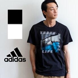 【SALE!!】【 adidas アディダス 】 M ID フォトグラフィック 半袖 Tシャツ FSR42 / adidas tシャツ adidas メンズ Adidas レディース トップス tee ユニセックス 丸首 クルーネック プリントT トレーニングウェア スポーツ