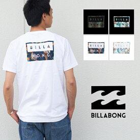 【 BILLABONG ビラボン 】DECAL CUT LOGO デカルカットロゴS/S Tシャツ AJ011205 / 半袖 バックプリント ロゴT 丸首 クルーネック トップス サーフ メンズ レディース ユニセックス /