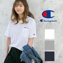【Champion チャンピオン】 キャンパス ビッグシルエット ポケット Tシャツ C3-K357/レディース/メンズ/ユニセックス…