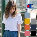 【Champion チャンピオン】 ワンポイント ロゴ 刺繍 ベーシック Tシャツ C3-H359/メンズ/レディース/ユニセックス/CHAMPION/丸首/半...