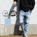 【CHEAP MONDAY チープマンデー 】レッグジーンズ 0629358-U メンズ ボトムス デニム/ジーンズ/ルーズフィット/ダメージ/クラッシュデニム/ボトムス/カジュアル/パンツ/ユーズド加工/チープマンデイ
