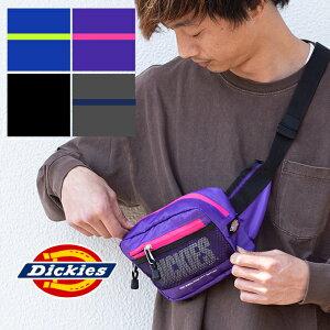 【SALE!!】【 Dickies ディッキーズ 】 RIPSTOP WAIST BAG リップストップ ウエストバッグ 14065500 / ウエストポーチ ボディーバッグ ヒップバッグ メッセンジャーバッグ カバン 斜め掛け カジュアル ア