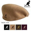 【 KANGOL カンゴール 】 ウール 504 Wool 504 197-169001 / 0258BC / カンゴール 帽子 カンゴール ハンチング カンゴ…