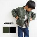 【AVIREX × Stomp Stamp アヴィレックス × ストンプスタンプ】 キッズ&ベビー MA-1 ジャケット 9102711/キッズ/トッ…