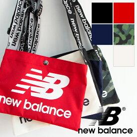 【new balance ニューバランス】MULTI BAG S ロゴ サコッシュ JABL9407 /バッグ/サコシュ/ショルダー/バッグインバッグ/ポーチ/カジュアル/スポーティ/小さめバッグ/かばん/鞄/メンズ/レディース/男女兼用/ユニセックス/ミニバッグ/フェス/