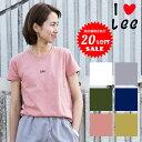 【Lee リー】 SMALL LOGO TEE Leeロゴ Tシャツ LS7282/レディース/トップス/Tシャツ/カットソー/半袖/クルーネック/ロ…