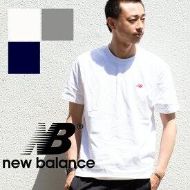【NEW BALANCE ニューバランス】エッセンシャル NB レガシー Tシャツ AMT91543 /ニューバランス メンズ Tシャツ 半袖 ワンポイント