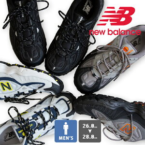 【 new balance ニューバランス 】 メンズ トレイル ランニング シューズ ML703 / スニーカー 靴 ローカット ダッドスニーカー ボリュームスニーカー アウトドア 登山 ウォーキング 26cm 27cm 28cm 男