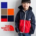 【THE NORTH FACE ザノースフェイス】キッズ コンパクトジャケット NPJ21810 /アウトドア/ナイロンジャケット/ウイン…