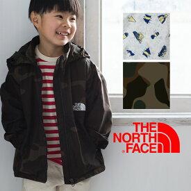 【THE NORTH FACE ザノースフェイス】キッズ ノベルティコンパクトジャケット NPJ21811 /アウトドア/ナイロンジャケット/ウインドブレイカー/ナイロンパーカ/アウター/ボーイズ/ガールズ/
