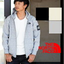 【THE NORTH FACE ザノースフェイス】スクエアロゴフルジップパーカ NT61836 /パーカ...