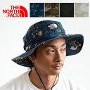【 THE NORTH FACE ザノースフェイス 】 Novelty Horizon Hat ノベルティホライズンハット NN01708 / 小物 帽子 ハット UVカット 紫外線カット ロゴ 春夏 アウトドア フェス キャンプ カジュアル メンズ レディース ユニセックス