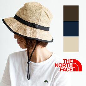 【 THE NORTH FACE ザノースフェイス 】HIKE HAT ストロー ハイク ハット NN01815 / 帽子 Mサイズ Lサイズ ウォッシャブル 折りたたみ可能 サイズ調節 あご紐 ポリエステル フェス メンズ レディース ユニセックス /