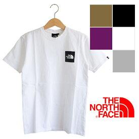 【 THE NORTH FACE ザ ノースフェイス 】S/S SQUARE LOGO TEE スクエア ロゴ S/S Tシャツ NT81930 / NT81930EC / 半袖 Tシャツ ロゴT 丸首 クルーネック ワンポイント ボックスロゴ ノース tシャツ トップス メンズ レディース ユニセックス /