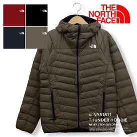 【 THE NORTH FACE ザノースフェイス 】 Thunder Hoodie サンダーフーディ(メンズ) NY81811 / ノースフェイス ダウン ノースフェイス アウター メンズ ノースフェイス サンダー フーディ フード ライトダウン the north face アウトドア ポケッタブル パッカブル