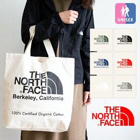 【 THE NORTH FACE ザノースフェイス 】 TNF Organic Cotton Tote オーガニック コットン トートバッグ NM81971 / エコバッグ カバン 鞄 小物 ロゴプリント キャンバス ノース バッグ アウトドア メンズ レディース ユニセックス 男女兼用 20SS/