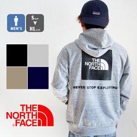【ポイント10倍!!】【 THE NORTH FACE ザノースフェイス 】 Back Square Logo Hoodie バックスクエアロゴフーディ メンズ NT12034 / トップス パーカー フーディ スウェット トレーナー プルオーバー 裏毛 スクエアロゴ ブランド アウトドア カジュアル north パーカー 20SS