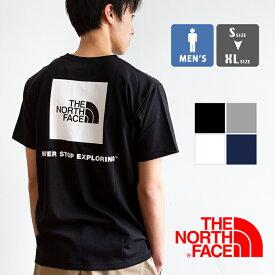 【 THE NORTH FACE ザ ノースフェイス 】 S/S Square Logo Tee ショートスリーブ スクエアロゴTシャツ NT32038 / ノースフェイス tシャツ the north face tシャツ メンズ ノースフェイス 半袖 クルーネック tシャツ ショートスリーブ 夏 半袖 メンズ ロゴt プリント 20SS