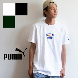 【SALE!!】【 PUMA プーマ 】PUMA OG Tee ビッグシルエット 半袖 Tシャツ 844527 / puma tシャツ puma メンズ puma レディース トップス オーバーサイズ ユニセックス ロゴ 丸首クルーネック 刺繍 S/S 限定 ワンポイント