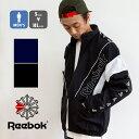 【SALE!!】【 Reebok リーボック 】 ロゴテープ ウインドジャケット FYH15 / トップス アウター ジャケット ウインドブレーカー パーカー フルジップ 裏メッシュ 暖か スポーツウ