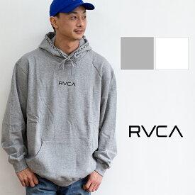 【RVCA ルーカ】WARP RVCA PARKA ミニロゴ 刺繍 スウェット プルパーカ AJ041016 /プルオーバー パーカー フーディー ワープ 裏毛 フード ロゴプリント rvca トレーナー rvca パーカー ルーカ パーカー トップス メンズ/