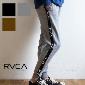 【 RVCA ルーカ 】 ルーカ ライン スウェットパンツ 裏起毛 LINE SWEAT PANT AJ042-725 / rvca パンツ サイドライン トラックパンツ ジョガーパンツ ラインパンツ メンズ レディース ユニセックス LINE 裏起毛 ブランド おしゃれ