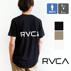 【SALE!!】【 RVCA ルーカ 】RVCA メンズ BACK TAIL RVCA SS バックロゴプリント 半袖 Tシャツ BA041221 / rvca tシャツ メンズ rvca t シャツ 半袖 ルーカ rvca ルーカ ルカ トップス ロゴT 丸首 バックプリント 人気 かわいい 20SS