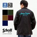 【 Schott ショット 】 COACH JACKET AMERICAN ORIGINAL コーチジャケット 3192044 / トップス アウター ジャケット ナイロンジャケット ジャンパー 裏ボ