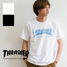 【SALE!!】【THRASHER スラッシャー】HOMETOWN ICE S/S T-SHIRT アイスロゴ 半袖Tシャツ TH81226 / スラッシャー tシャツ スラッシャー tシャツ メンズ