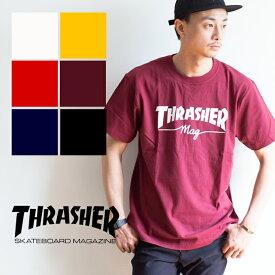 【SALE!!】【THRASHER スラッシャー】MAG S/S Tee マグロゴ 半袖Tシャツ TH91107 スラッシャー tシャツスラッシャー tシャツ メンズ