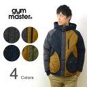 gym master(ジムマスター)ドロップ ポケット マウンテン パーカー マンパー アウター 中綿 フーディ フード ストレッチ サーモライト メンズ レディース アメカジ アウトドア ストリート