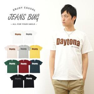 『Daytona』JEANSBUGORIGINALPRINTT-SHIRTオリジナルデイトナアメカジプリント半袖Tシャツシンプル英字メンズレディース大きいサイズビッグサイズ対応【ST-DAYTONA】