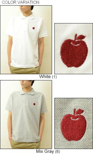 (OPポロシャツ)『Apple』JEANSBUGORIGINALPOLO-SHIRTオリジナルロゴワンポイント刺繍半袖ポロシャツアップルりんご林檎リンゴアメカジメンズレディース大きいサイズビッグサイズ対応【OPPL-APPLE】