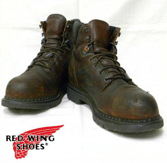 7 RED WING (redwing) USED hall leather shoes red wing leather shoes higher frequency elimination work boots
