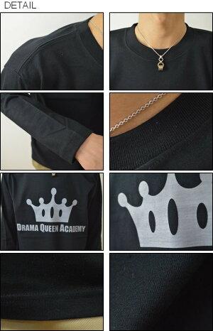 (ロンT)『QUEEN』JEANSBUGORIGINALPRINTLongSleevesTシャツオリジナルアメカジプリント長袖Tシャツ王冠クラウンメンズレディース大きいサイズビッグサイズ対応【LT-QUEEN】
