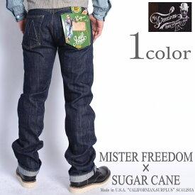 "MISTER FREEDOM×SUGAR CANE (ミスターフリーダム×シュガーケーン) ジーンズ MFSC Made in U.S.A. ""CALIFORNIAN, SURPLUS"" 13.75oz. セルビッジデニム ジーンズ SC41293A"