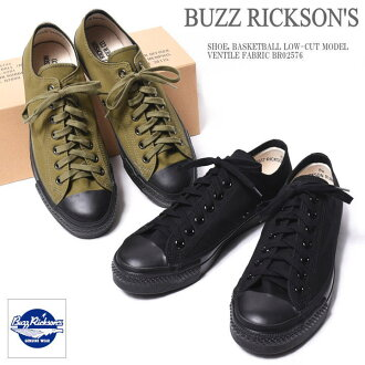 BUZZ RICKSON'S バズリクソンズ SHOE, BASKETBALL LOW-CUT MODEL VENTILE FABRIC vinta yl low-frequency cut basketball shoes BR02576
