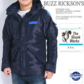 BUZZ RICKSON'S バズリクソンズ LOCKHEED SKUNK WORKS フィールドパーカー EXTENDED COLD WEATHER CLOTHING SYSTEMS BR13622-02
