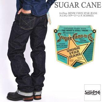 SUGAR CANE sugar Cane jeans 14.25oz. DENIM UNION STAR JEANS union star jeans SC40065A