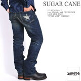 "SUGARCANEシュガーケーンロンスタージーンズ14oz.SUGARCANEFIBERDENIMLONESTARJEANS""5YEARAGED""SC40901H"