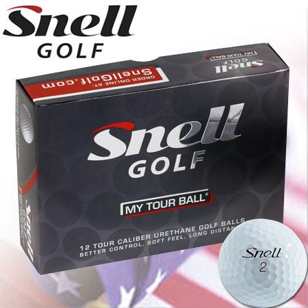 【ゴルフ】【ボール】スネルゴルフ Snell GOLF MTB(MY TOUR BALL)ボール [1ダース](USA直輸入品)
